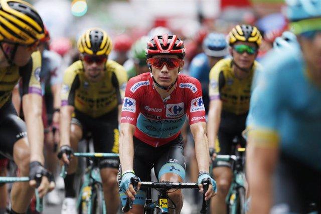 El ciclistsa colombiano Miguel Ángel 'Superman' López