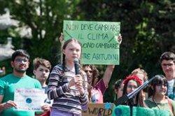 L'activista Greta Thunberg es manifesta davant la Casa Blanca contra el canvi climàtic (Massimigliano Migliorato - Archivo)