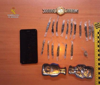 Detienen a un joven de Utrera (Sevilla) por llevar 17 dosis de hachís durante las fiestas de la Virgen de Consolación