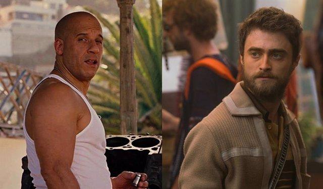 Vin Diesel y Daniel Radcliffle
