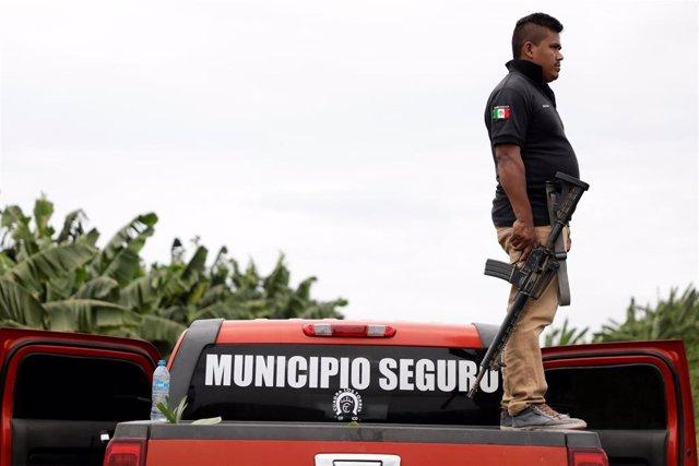 Miembro de un grupo de autodefensa en el estado mexicano de Michoacán