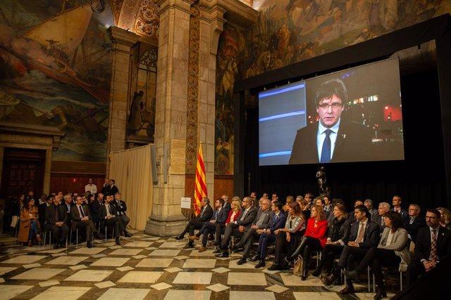 Fotos | Presentació Consell Per La República. Foto d'arxiu
