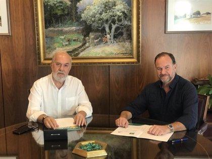 DOP Condado de Huelva y Fundación Caja Rural del Sur colaborarán en tareas de promoción e investigación