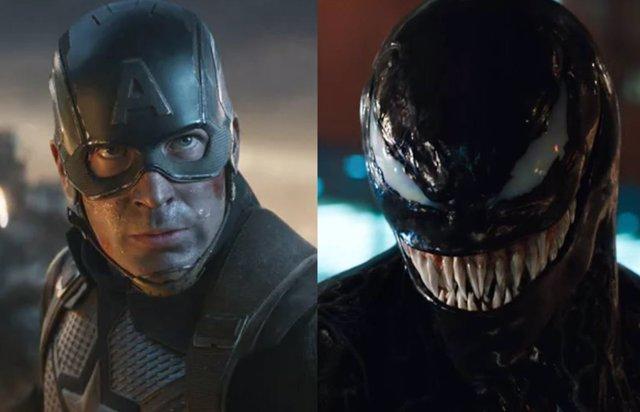 Capitán América y Venom