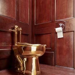 Vàter o vàter d'or robat en el Palau de Blenheim, el Regne Unit