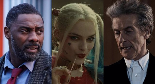 Idris Elba, Margot Robbie y Peter Capaldi