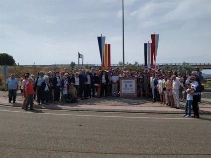 Calatayud dedica una rotonda a Auch en el X aniversario del hermanamiento