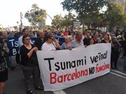 Més de 500 persones es manifesten