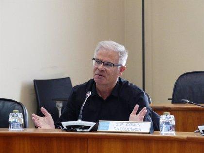 """El Grupo Común da Esquerda se opone a fijar en septiembre el debate de política general: """"Es burlarse del Parlamento"""""""