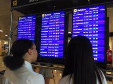 Ryanair afronta aquest diumenge la seva sisena jornada de vaga de TCP sense vols cancel·lats (EUROPA PRESS)