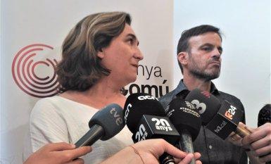 """Ada Colau: """"L'única opció que cal descartar és anar a eleccions"""" (EUROPA PRESS)"""