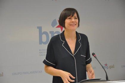 La portavoz nacional del BNG, Ana Pontón, anuncia que está embarazada de 18 semanas