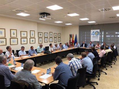 La CARM se reúne con organizaciones agrarias para evaluar los daños en el campo murciano
