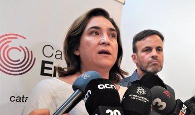 """Ada Colau afirma que no hi ha """"crisi general"""" de seguretat sinó un problema de robatoris i furts (EUROPA PRESS)"""