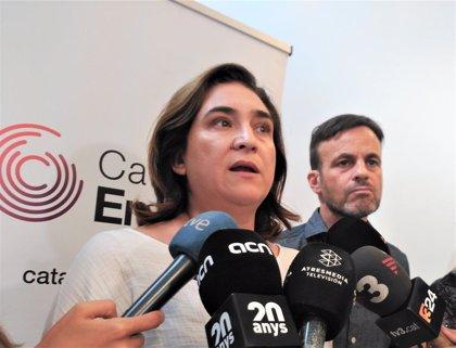 """Ada Colau afirma que no hi ha """"crisi general"""" de seguretat sinó un problema de robatoris i furts"""