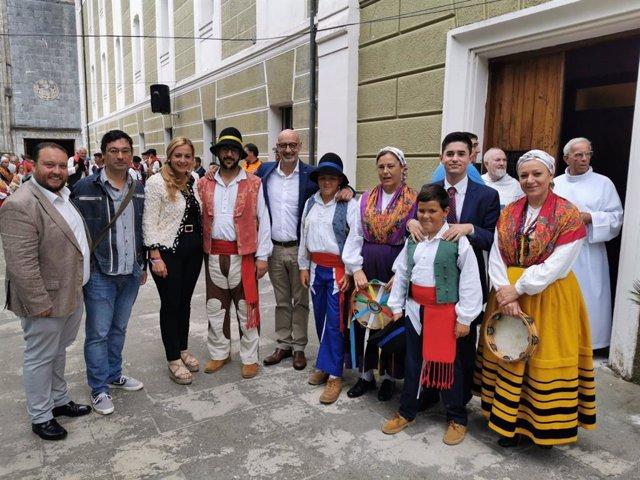 Cargos públicos de Ciudadanos en la festividad de la Bien Aparecida
