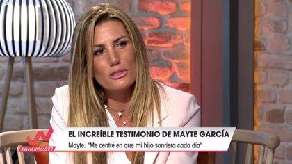 Mayte García, la mujer de Cañizares, desvela cómo han afrontado la muerte de su hijo