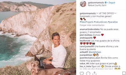 El instagramer Gotzon Mantuliz se casa por sorpresa con su pareja
