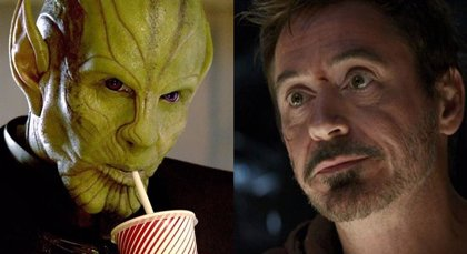 ¿Será Iron Man un Skrull en Black Widow?