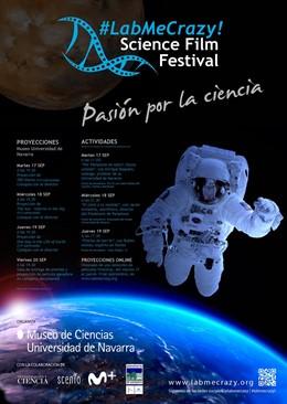 #Labmecrazy! Science Film Festival Celebra Su Primera Edición Con Actividades Para Todos Los Públicos