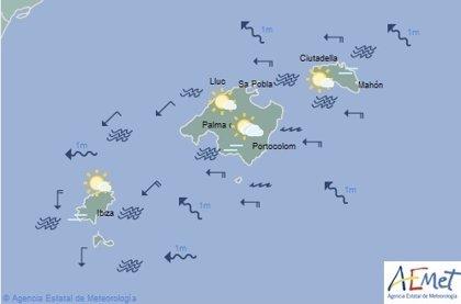 El tiempo en Baleares hoy, 16 de septiembre de 2019