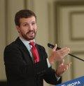 """Casado recalca que fue Sánchez el que optó por dar """"un portazo"""" al PP: """"Jamás ha querido nuestro apoyo"""""""