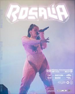 Concerts de Rosalía a Barcelona i Madrid