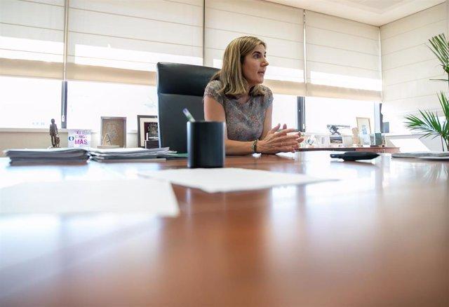 Entrevista a la consejera de Empleo, Formación y Trabajo Autónomo de la Junta de Andalucía, Rocío Blanco.