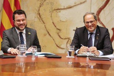 """Aragonès faria un govern de concentració """"demà mateix"""" però aclareix que no hi ha acord (GENERALITAT DE CATALUNYA)"""