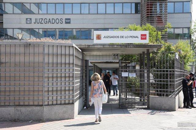 Imagen de los Juzgados de lo Penal de Madrid