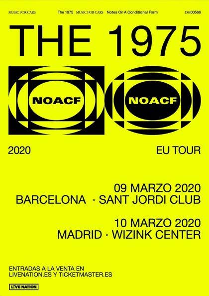 The 1975 presentarán nuevo disco en Barcelona y Madrid