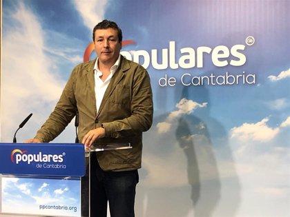 El PP pide que Cantabria rechace los peajes en sus autovías