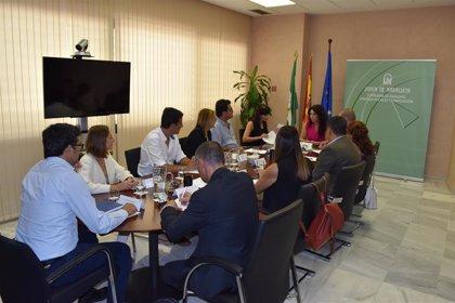 Rocío Ruiz se reúne con las empresas del servicio de ayuda a domicilio para mejorar la atención a los dependientes