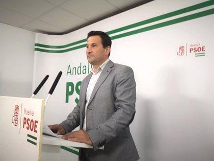 """El PSOE destaca que el Gobierno central """"cumple"""" con Huelva frente a una """"desastrosa"""" gestión de la Junta"""