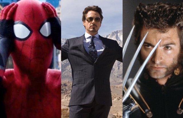 Spider-Man, Tony Stark y X-Men, juntos en la escena post-créditos eliminada de Iron Man