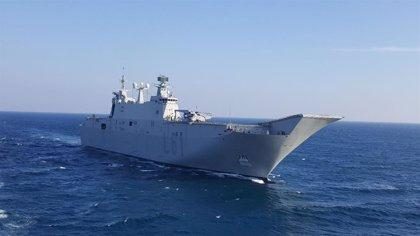 Más de 1.300 militares desarrollan hasta este jueves maniobras en Rota, Barbate y la Bahía de Cádiz
