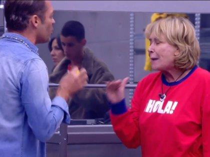 Hugo Castejón al límite, se enfrenta con Mila Ximénez y se queda sin apoyos