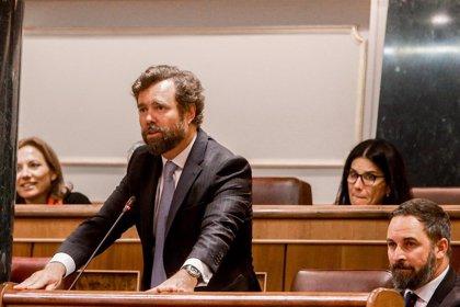 """Vox saluda la oferta de Rivera sobre la abstención pero no participará en un """"tricentrito progre"""""""