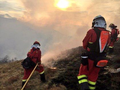 En medio mes de 2019 se han quemado en Cantabria 1.472 hectáreas más (+32%) que en todo el año pasado