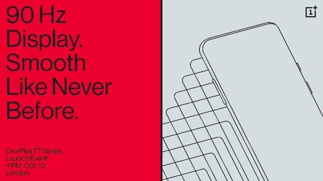 El 'smartphone' OnePlus 7T se presentará el 10 de octubre en Londres y tendrá pa