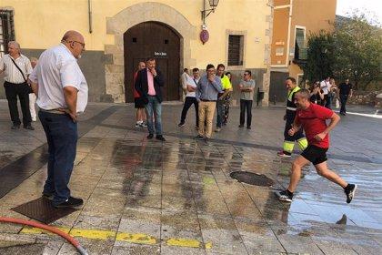 El recorrido de la suelta de vaquillas de San Mateo en Cuenca incorporará un producto antideslizante