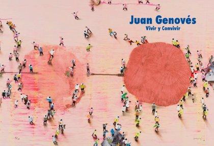 """Galería Benlliure celebra su 35 aniversario con una """"innovación inédita"""" del pintor valenciano Juan Genovés"""