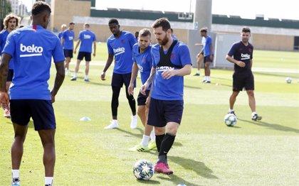 Messi  recibe el alta médica y viaja a Dortmund