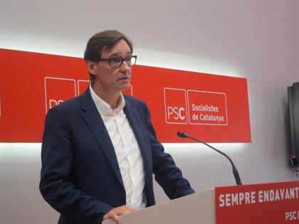 """El PSC sobre una moción de censura a Torra: """"Se presentan cuando se pueden ganar"""""""