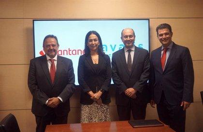 Avalis de Catalunya y Banco Santander aumentan a 85 millones el límite de los riesgos avalados