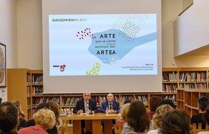 El Guggenheim Bilbao contará con visitas virtuales y residencias artísticas en sus programas escolares