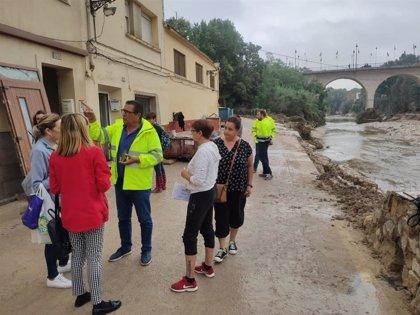 Técnicos municipales inician en Ontinyent la evaluación del estado de las casas en la zona más afectada