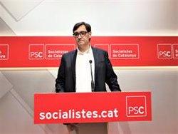 El PSC sobre una moció de censura a Torra: