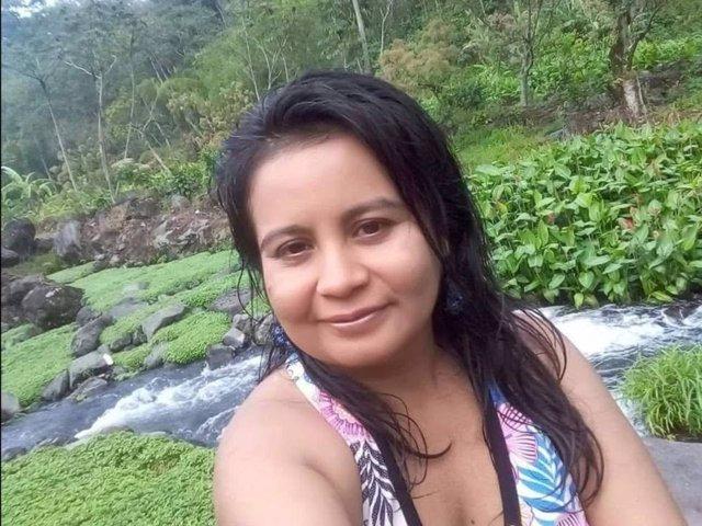 La activista guatemalteca Diana Isabel Hernández