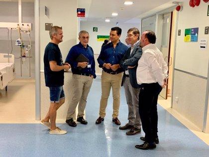 Interrumpida la cirugía programada en el hospital Los Arcos en San Javier